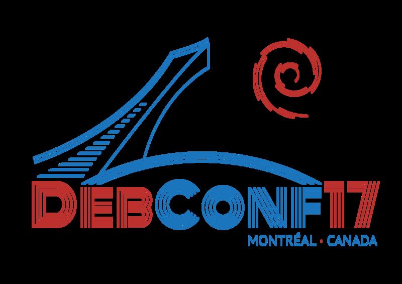DebConf17 logo