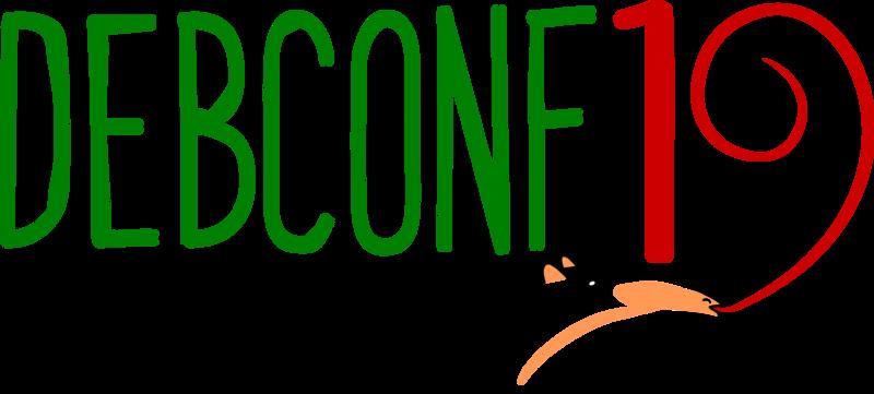 DebConf19 logo
