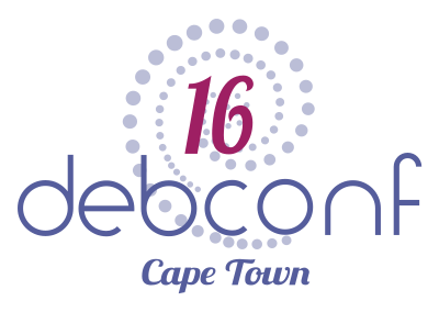 DebConf16 logo