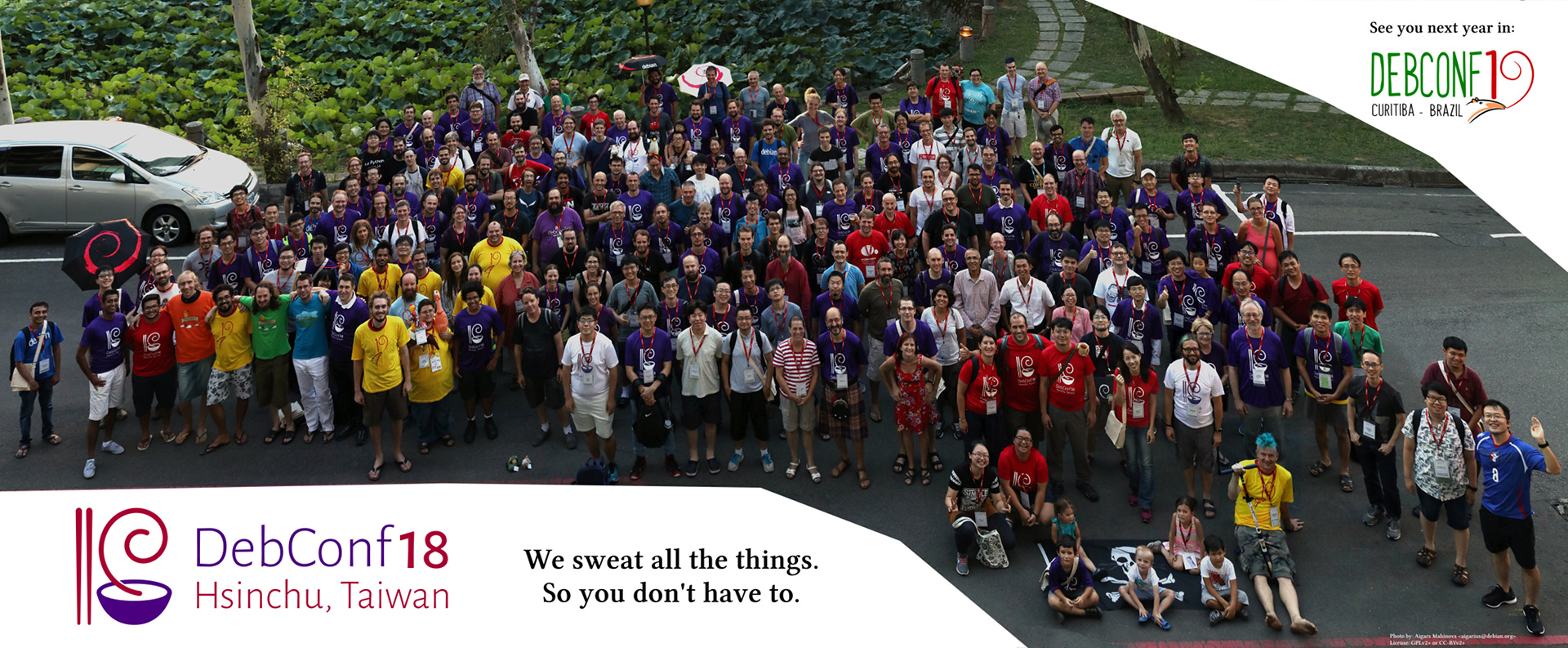 DebConf18 group photo - click to enlarge