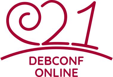 DebConf21 banner