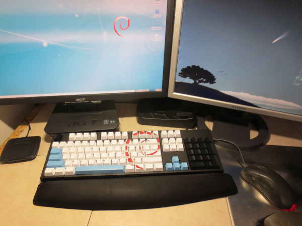 Keyboard matching Debian Lenny Theme